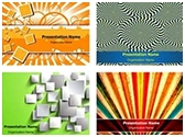 Abstract and Background PowerPoint Templates Bundle, TheTemplateWizard