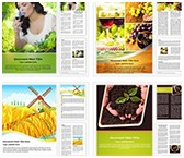 Agriculture and Farming Word Templates Bundle, TheTemplateWizard