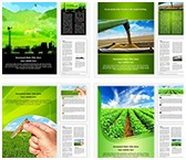 Agriculture Technology Word Templates Bundle, TheTemplateWizard