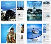 Air Force Word Templates Bundle, TheTemplateWizard