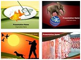 Animal Abuse PowerPoint Templates Bundle, TheTemplateWizard