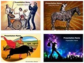 Art and Entertainment PowerPoint Templates Bundle, TheTemplateWizard