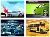 Automotive PowerPoint Templates Bundle, TheTemplateWizard