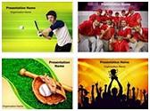 Baseball Softball PowerPoint Templates Bundle, TheTemplateWizard