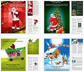 Christmas Word Templates Bundle, TheTemplateWizard