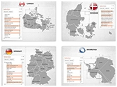 Continents and Countries PowerPoint Maps Bundle, TheTemplateWizard