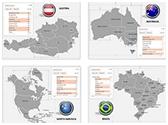 Countries PowerPoint Maps Bundle, TheTemplateWizard