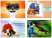 Dog Human Friendship PowerPoint Templates Bundle, TheTemplateWizard