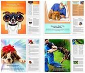 Dog Human Friendship Word Templates Bundle, TheTemplateWizard