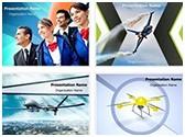 Drone Aircraft Aviation PowerPoint Templates Bundle, TheTemplateWizard