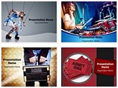 Entertainment PowerPoint Templates Bundle, TheTemplateWizard