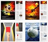 Football Soccer Fifa Word Templates Bundle, TheTemplateWizard