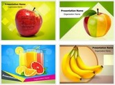 Fruits PowerPoint Templates Bundle, TheTemplateWizard