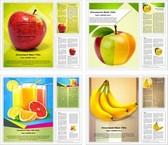 Fruits Word Templates Bundle, TheTemplateWizard