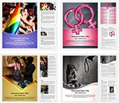 Gender Discrimination Word Templates Bundle, TheTemplateWizard