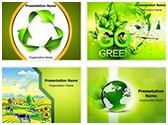 Green Environment Background PowerPoint Templates Bundle, TheTemplateWizard