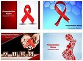 HIV AIDS PowerPoint Templates Bundle, TheTemplateWizard