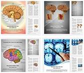 Human Brain Word Templates Bundle, TheTemplateWizard