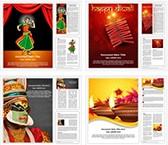 Indian Religious Culture Word Templates Bundle, TheTemplateWizard