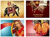 Indian Wedding PowerPoint Templates Bundle, TheTemplateWizard