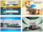 Logistics PowerPoint Templates Bundle, TheTemplateWizard