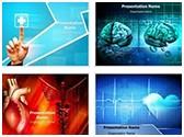 Medical Heart Background PowerPoint Templates Bundle, TheTemplateWizard