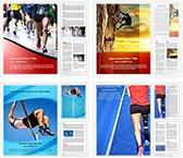 Mix Sports Word Templates Bundle, TheTemplateWizard