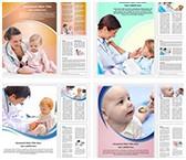 Pediatrician Word Templates Bundle, TheTemplateWizard