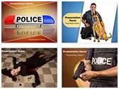 Police PowerPoint Templates Bundle, TheTemplateWizard