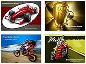 Racing Sports PowerPoint Templates Bundle, TheTemplateWizard