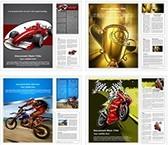 Racing Sports Word Templates Bundle, TheTemplateWizard