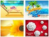 Seasonal Background PowerPoint Templates Bundle, TheTemplateWizard