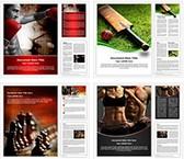 Sports Word Templates Bundle, TheTemplateWizard