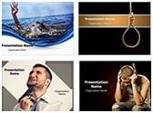 Suicide PowerPoint Templates Bundle, TheTemplateWizard