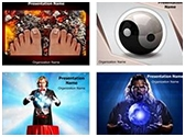 Tradition and Magic PowerPoint Templates Bundle, TheTemplateWizard