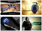 Weapons Ammunition PowerPoint Templates Bundle, TheTemplateWizard