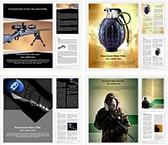Weapons Ammunition Word Templates Bundle, TheTemplateWizard