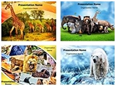 Wildlife Safari PowerPoint Templates Bundle, TheTemplateWizard