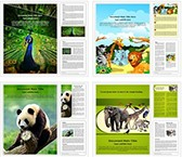 Zoology Word Templates Bundle, TheTemplateWizard