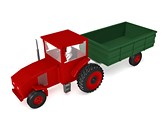 Agriculture Tractor Animated Clipart, TheTemplateWizard