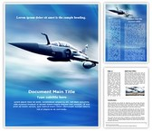 Air Force Template Combo Offer PPT 6 Slides and Word 3 Pages, thetemplatewizard