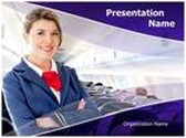 Air Hostess Template Combo Offer PPT 6 Slides and Word 3 Pages, thetemplatewizard