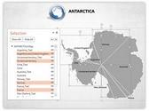 Antarctica PowerPoint Map, TheTemplateWizard