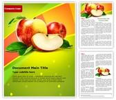 Apple Word Template, TheTemplateWizard