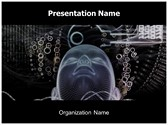 Artificial Intelligence Free PowerPoint Template, TheTemplateWizard