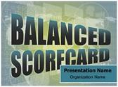 Balanced Scorecard Free PowerPoint Template, TheTemplateWizard