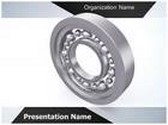 Ball Bearing Production Process Animated PowerPoint Template, TheTemplateWizard