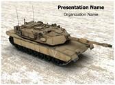 Battle Tank Animated PowerPoint Template, TheTemplateWizard