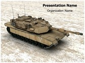 Battle Tank PowerPoint Template, TheTemplateWizard