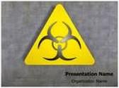 Bio Hazard Symbol Animated PowerPoint Template, TheTemplateWizard